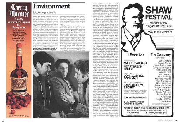 Article Preview: Mission Impracticable, March 1978 | Maclean's