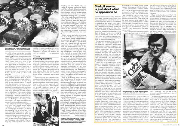 Article Preview: Clark, it seems, is just about what he appears to be, April 1978 | Maclean's