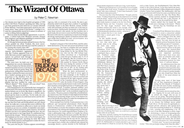 Article Preview: The Wizard Of Ottawa, April 1978 | Maclean's
