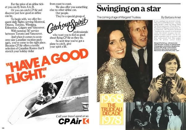 Article Preview: Swinging on a star, April 1978 | Maclean's