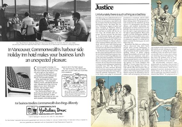 Article Preview: Unfortunately there is such a thing as a bad boy, April 1978 | Maclean's