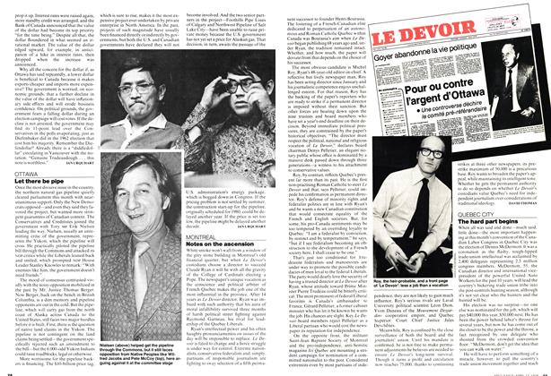 Article Preview: Let there be pipe, April 1978 | Maclean's