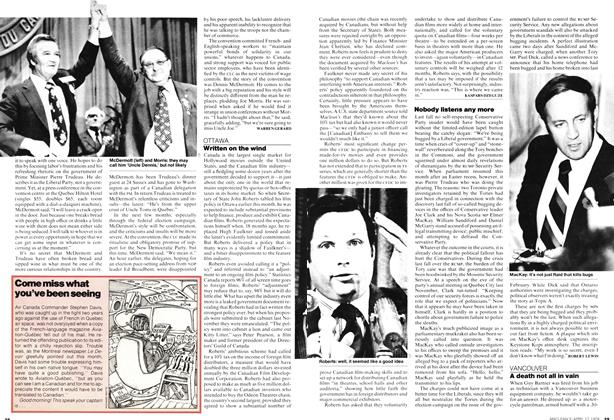 Article Preview: Written on the wind, April 1978 | Maclean's