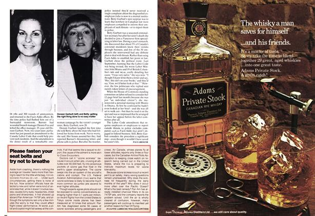 Article Preview: Please fasten your seat belts and try not to breathe, April 1978 | Maclean's