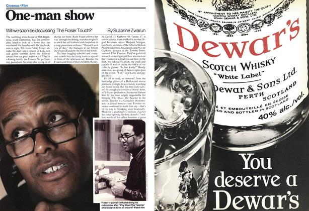 Article Preview: One-man show, April 1978 | Maclean's