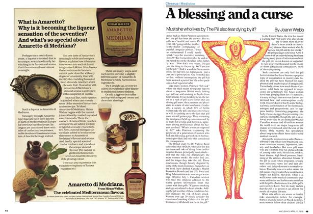 Article Preview: A blessing and a curse, April 1978 | Maclean's
