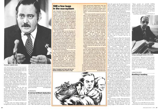 Article Preview: A not-so-brilliant deduction, May 1978 | Maclean's