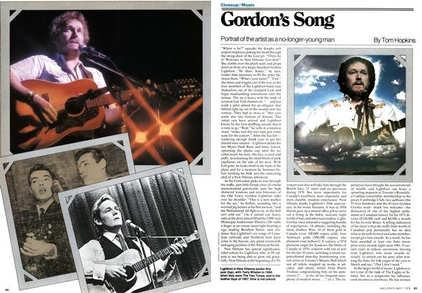 Article Preview: Gordon's Song, May 1978 | Maclean's