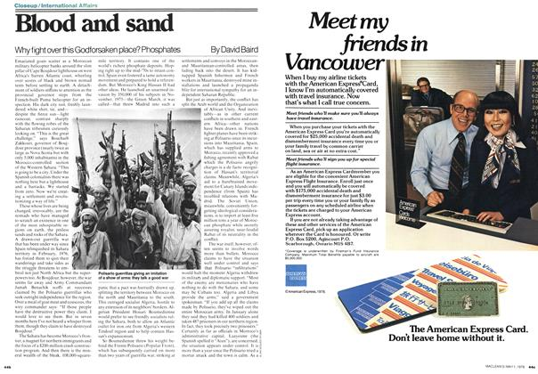 Article Preview: Blood and sand, May 1978 | Maclean's
