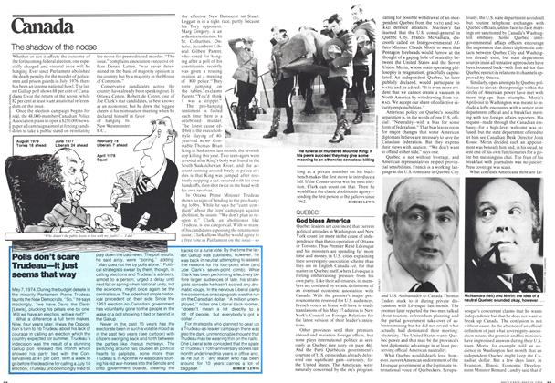 Article Preview: The shadow of the noose, May 1978 | Maclean's