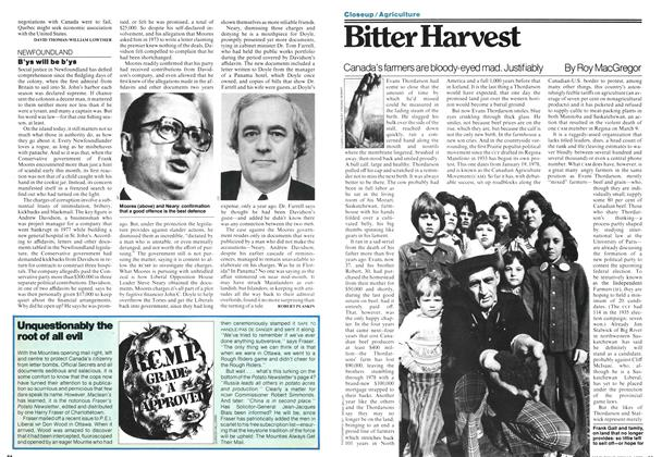 Article Preview: Bitter Harvest, May 1978 | Maclean's