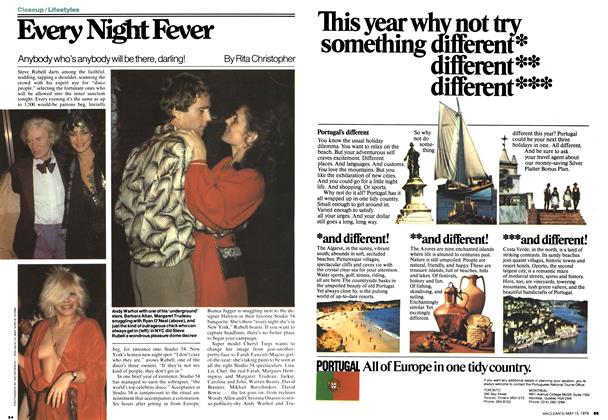 Article Preview: Every Night Fever, May 1978 | Maclean's