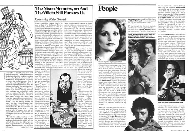 Article Preview: The Nixon Memoirs, or: And The Villain Still Pursues Us, May 1978 | Maclean's