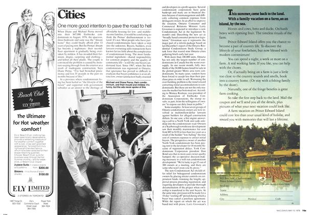 Article Preview: One more good intention to pave the road to hell, May 1978   Maclean's