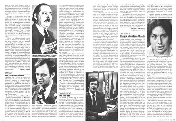 Article Preview: Beyond trinkets and beads, May 1978 | Maclean's