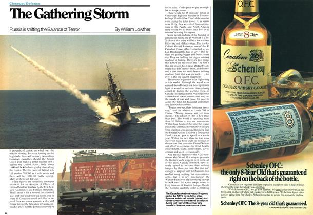 Article Preview: The Gathering Storm, May 1978 | Maclean's