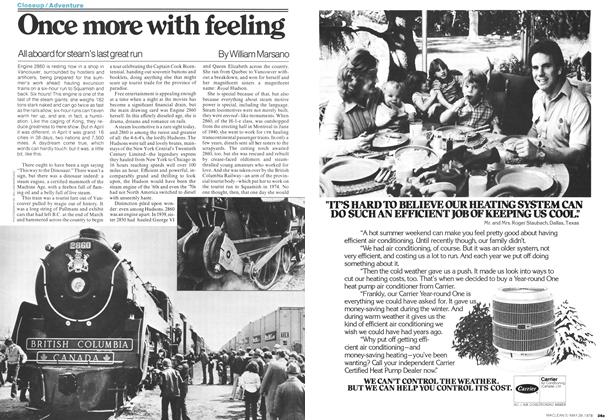 Article Preview: Once more with feeling, May 1978 | Maclean's