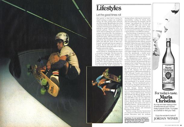 Article Preview: Let the good times roll, May 1978 | Maclean's