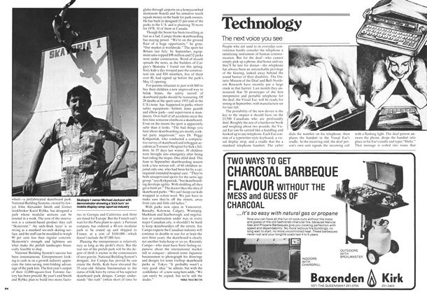 Article Preview: The next voice you see, May 1978 | Maclean's