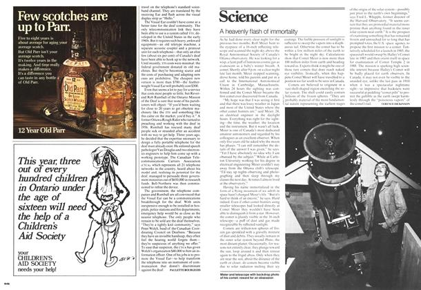 Article Preview: A heavenly flash of immortality, May 1978   Maclean's