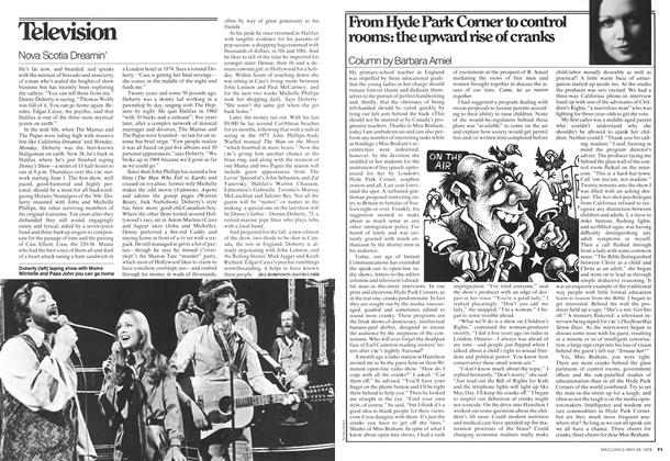 Article Preview: From Hyde Park Comer to control rooms: the upward rise of cranks, May 1978 | Maclean's