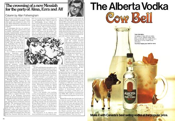 Article Preview: The crowning of a new Messiah for the party of Alma, Ezra and Alf, May 1978 | Maclean's