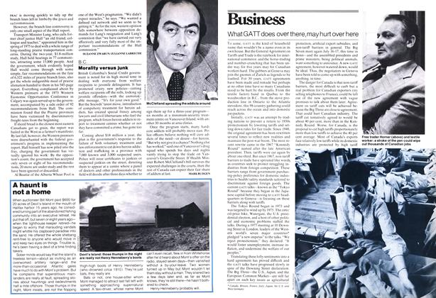 Article Preview: What GATT does over there, may hurt over here, June 1978 | Maclean's