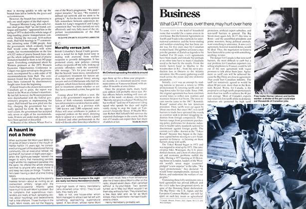 Article Preview: Morality versus junk, June 1978 | Maclean's