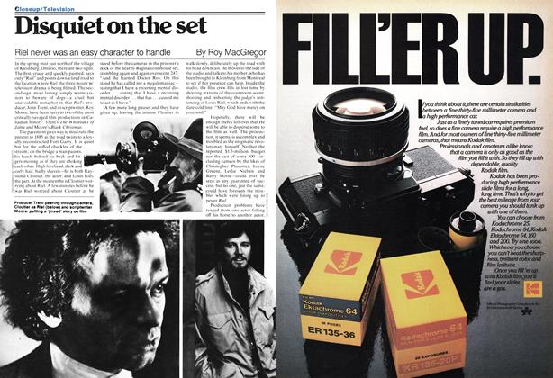 Article Preview: Disquiet on the set, June 1978 | Maclean's