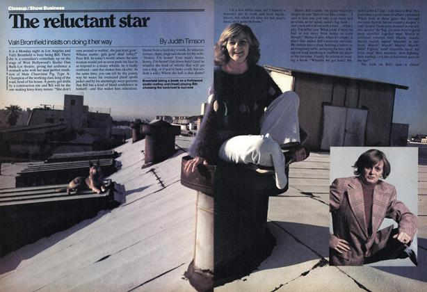 Article Preview: The reluctant star, June 1978 | Maclean's