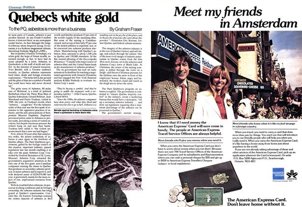 Article Preview: Quebec's white gold, June 1978 | Maclean's