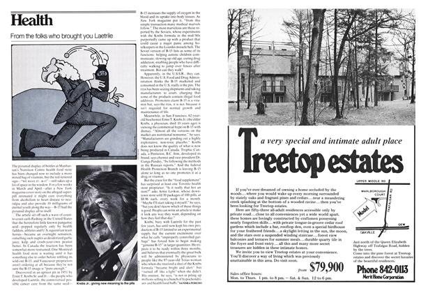 Article Preview: From the folks who brought you Laetrile, June 1978 | Maclean's