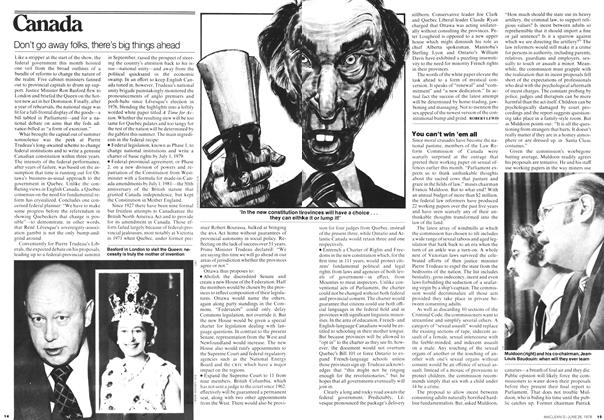 Article Preview: Don't go away folks, there's big things ahead, JUNE 26,1978 1978 | Maclean's