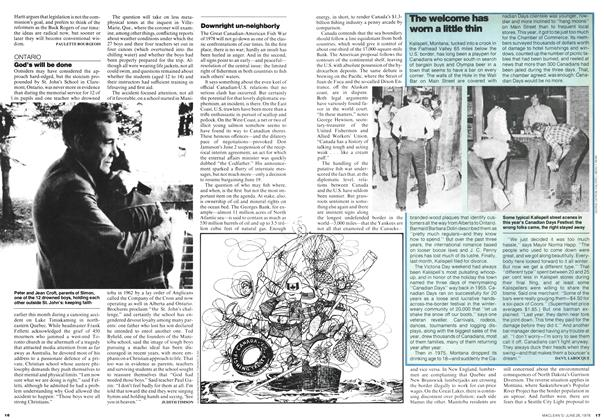 Article Preview: Downright un-neighborly, JUNE 26,1978 1978 | Maclean's