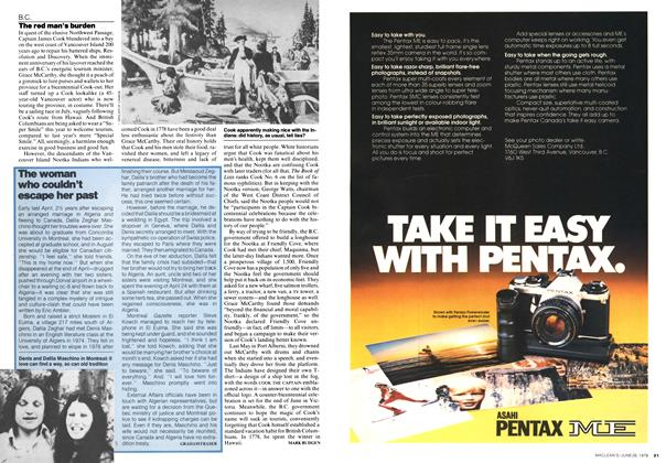 Article Preview: The woman who couldn't escape her past, JUNE 26,1978 1978 | Maclean's