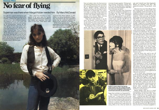 Article Preview: No fear of flying, JUNE 26,1978 1978 | Maclean's