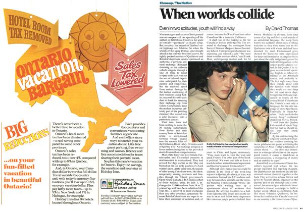 Article Preview: When worlds collide, JUNE 26,1978 1978 | Maclean's