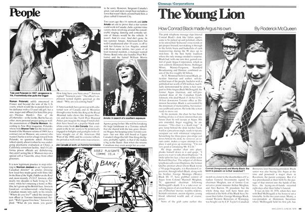 Article Preview: The Young Lion, JUNE 26,1978 1978 | Maclean's
