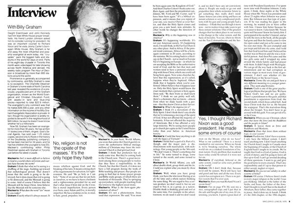 Article Preview: Interview, JUNE 26,1978 1978 | Maclean's