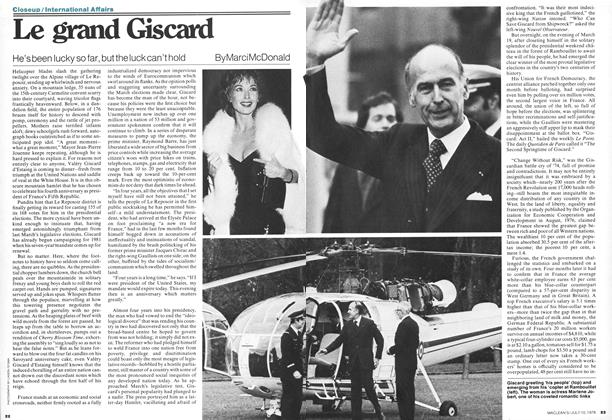 Article Preview: Le grand Giscard, July 1978 | Maclean's