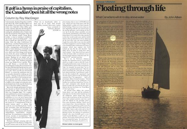 Article Preview: Floating through life, July 1978 | Maclean's