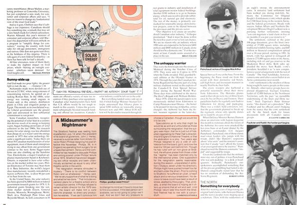 Article Preview: The unhappy warrior, July 1978 | Maclean's