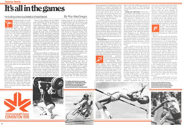 Article Preview: It's all in the games, July 1978 | Maclean's