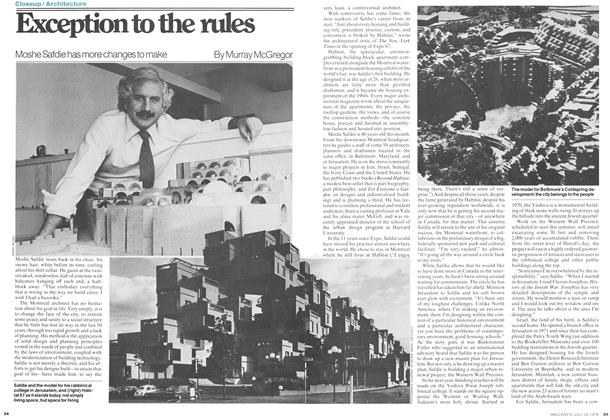 Article Preview: Exception to the rules, July 1978 | Maclean's