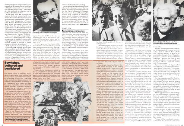 Article Preview: Tomorrow never comes, July 1978 | Maclean's