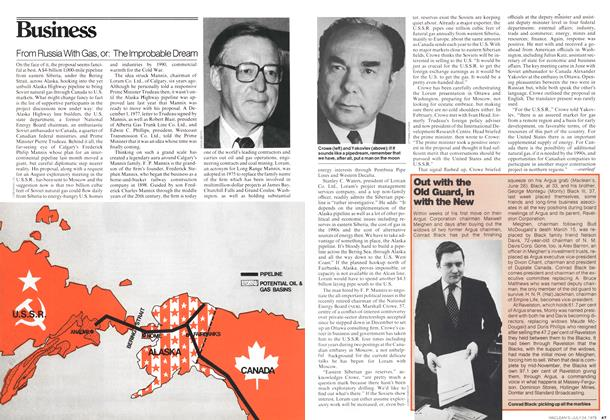 Article Preview: From Russia With Gas, or: The Improbable Dream, July 1978 | Maclean's