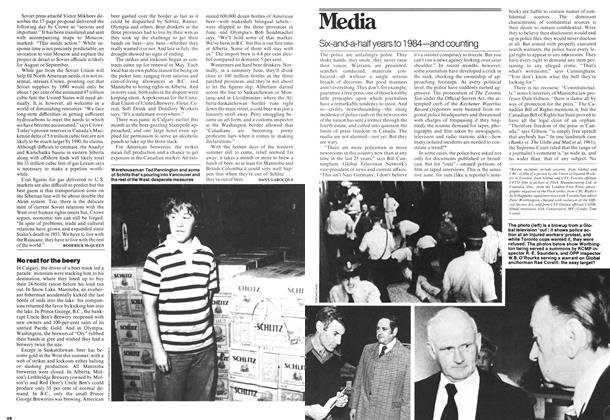 Article Preview: Six-and-a-half years to 1984—and counting, July 1978 | Maclean's