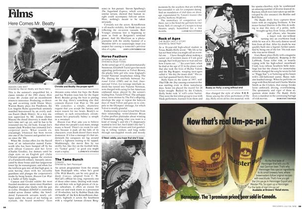 Article Preview: Horse Feathers, July 1978 | Maclean's