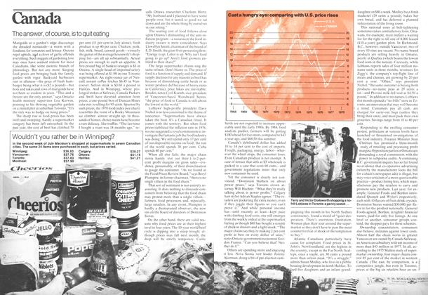 Article Preview: The answer, of course, is to quit eating, July 1978 | Maclean's