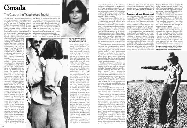Article Preview: The Case of the Treacherous Tourist, August 1978 | Maclean's